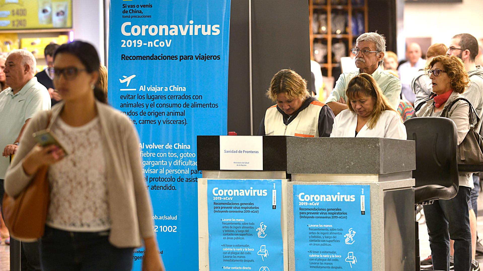 Argentina incluye a Chile en lista de países de riesgo por el coronavirus