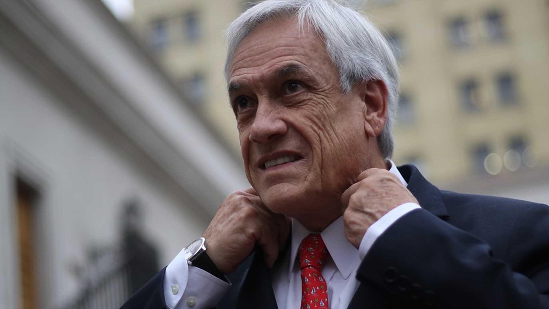 Piñera, molesto con la filtración del informe sobre coronavirus que se publicó en Argentina