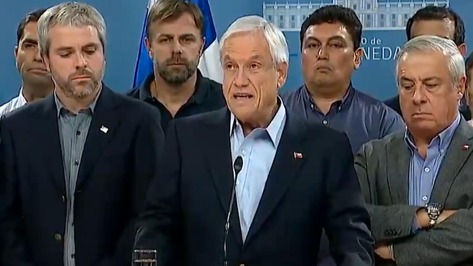 Piñera reconoce que Chile no estaba preparado para la pandemia