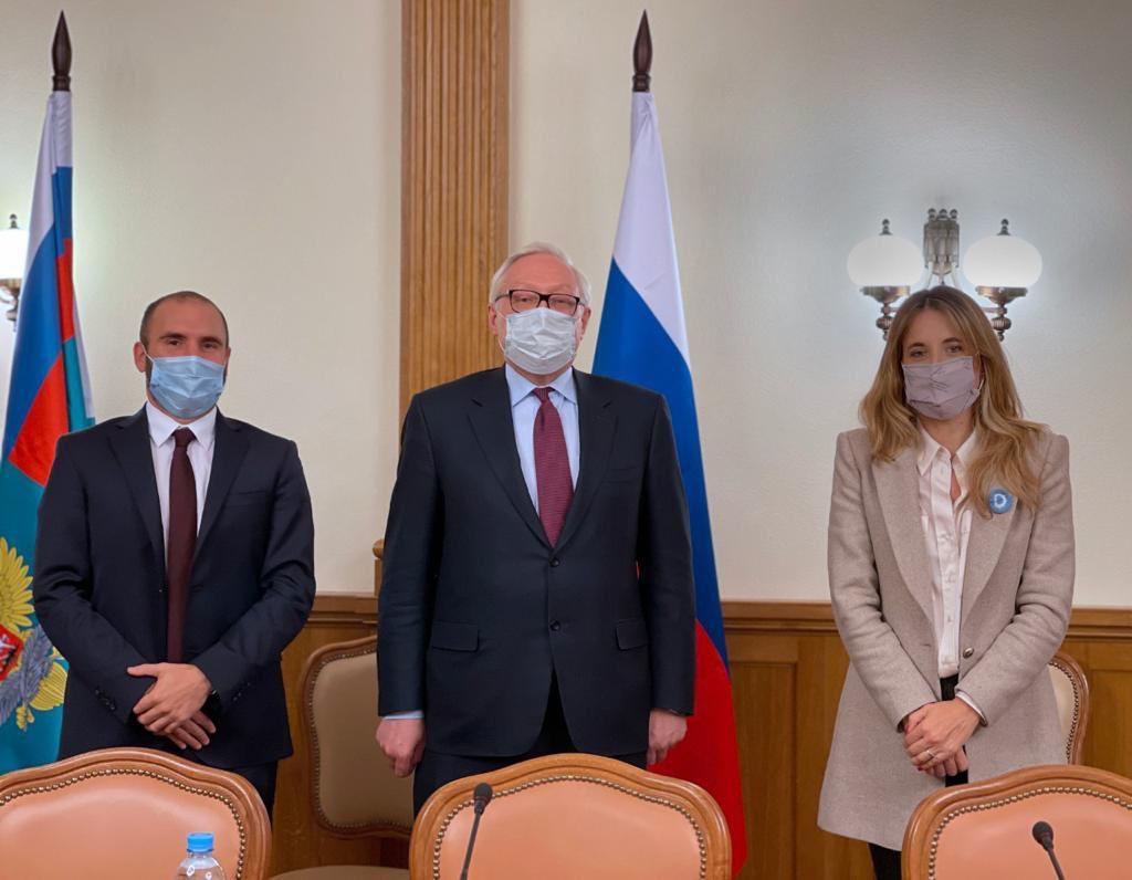 El Gobierno argentino avanza en Rusia con la agenda económica y sanitaria bilateral