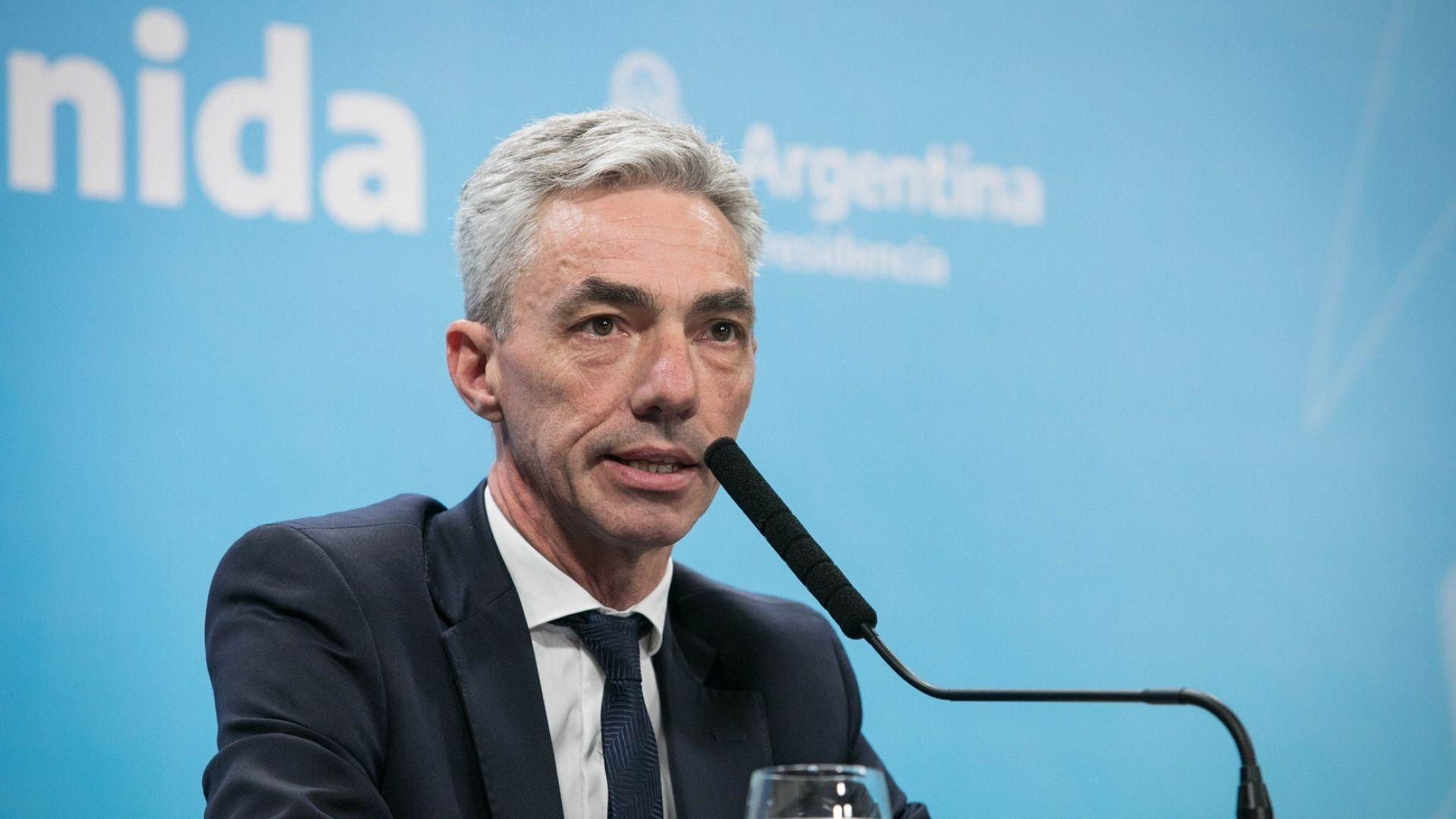 Murió el ministro de Transporte, Mario Meoni