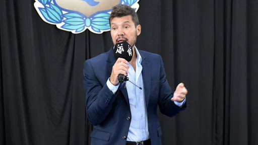 Tinelli denunció que lo amenazaron por los resultados de San Lorenzo