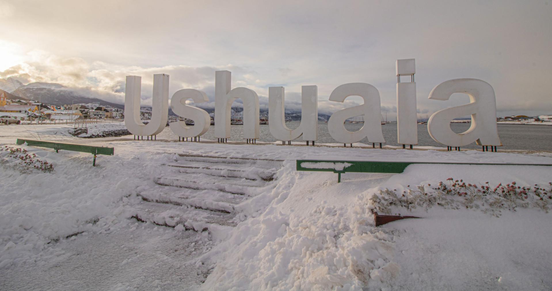 Histórica nevada en Ushuaia: una semana seguida y un metro de nieve acumulado