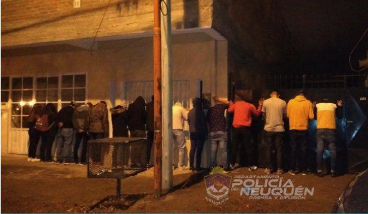 Neuquén: un soldado con coronavirus organizó una fiesta clandestina