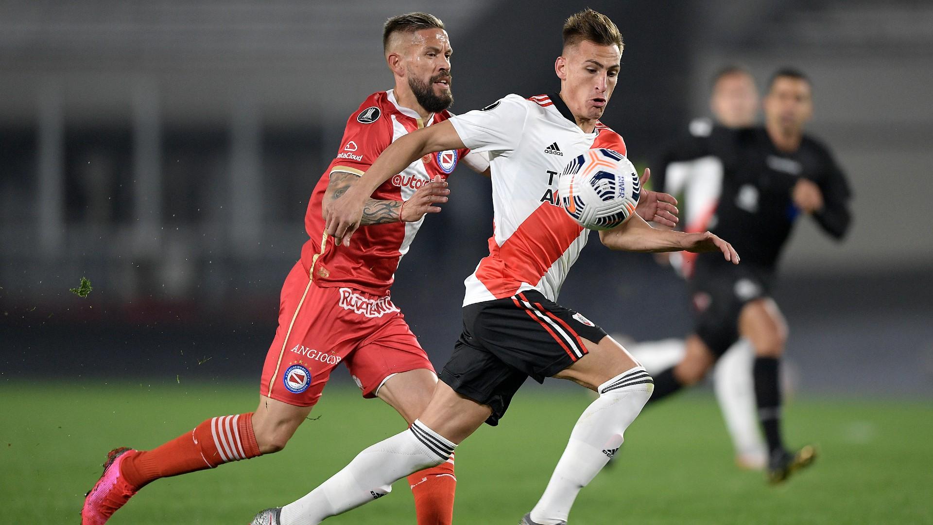 Copa Libertadores: River eliminó a Argentinos con dos goles de Braian Romero