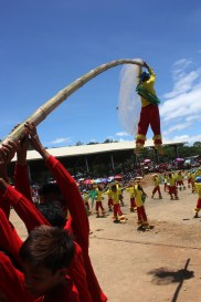 Just hang-on. 5th Pandawan Festival held every month of April at the small town of Pantabangan, Province of Nueva Ecija, Philippines