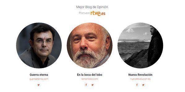 Finalistas premios Bitácoras 2015