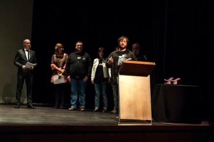 Manuel Ortega Lasaga recibió el Premio del Público por 'Dientes de Otro'