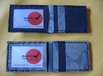 Carteras y billeteras en varios colores. Realizadas artesanalmente en cuero