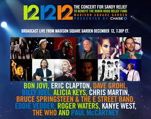 12.12.12 concierto recauda US 30 millones
