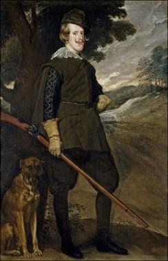 Felipe IV en traje de cazador FOTO: MUSEO DEL PRADO/BBVA