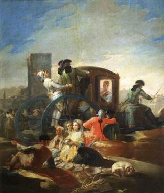 El Cacharrero de Francisco de Goya, pintura que se expondrá hasta el 31 de marzo en el Museo de Bellas Artes de Houston. Foto: MUSEO DEL PRADO/BBVA