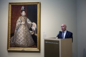 """Para Manuel Sánchez, presidente y consejero delegado de BBVA Compass, es un orgullo que el banco español patrocine esta exposición porque """"creemos que el arte cambia la vida de la gente"""", explicó el pasado 13 de diciembre en MFAH."""