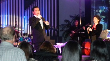 Mario Frangoulis and Alkistis Protopsalti in a concert of Presbyterian Church in NYC