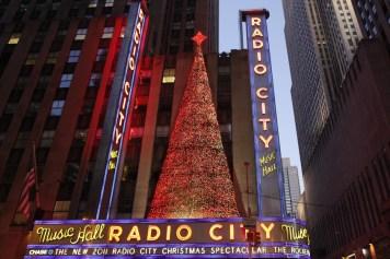 Majestuosa iluminación de fin de año en NY