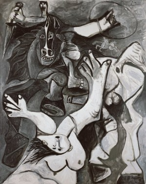Pablo Picasso, The Rape of the Sabines (L'enlèvement des Sabines), Mas Notre-Dame-de-Vie, Mougins, November 2–4, 1962