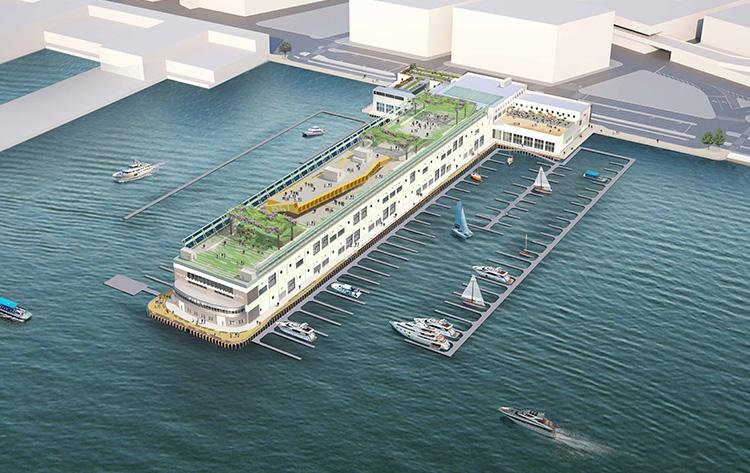 Nueva Ciudad Pier 57