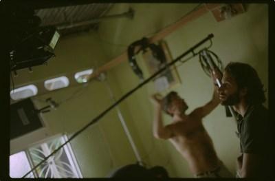 Estudio de filmacion de Porfirio