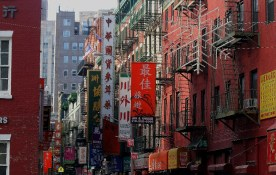 Chinatown celebra el año nuevo chino . Foto de Maosung Yao.