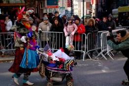 Oswaldo, Lady Gaga en celebración del año nuevo chino . Foto de Maosung Yao.