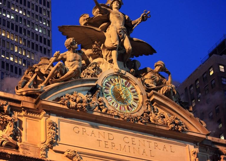 Grand Central estación de trenes de Nueva York