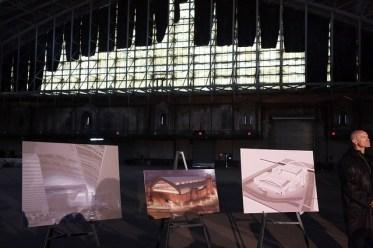 Escenario deportivo proyectado para Kingsbridge National Ice Center en El Bronx (Photo Credit: Spencer T Tucker)