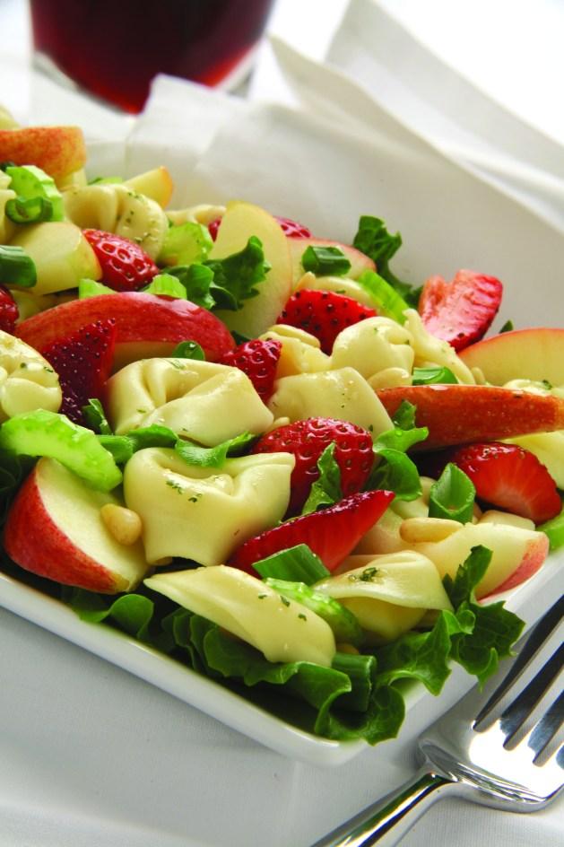 Ensalada de Tortellini y Manzana