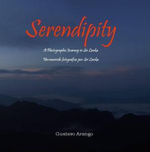 Serendipity, portada del libro de Gustavo Arango