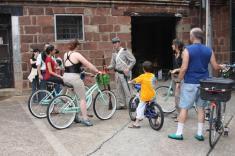 Un lugar seguro para explorar en bicicleta. No existe transporte vehicular en la isla, solamente los autos de la adminitsración del lugar recorren la isla. (Foto Departamento de Parques)
