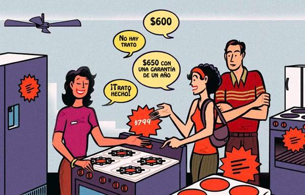 El arte de regatear y ahorrar dinero