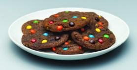 Minigalletas de chocolate con leche
