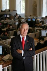 Alcalde de Nueva York Michael Bloomberg.