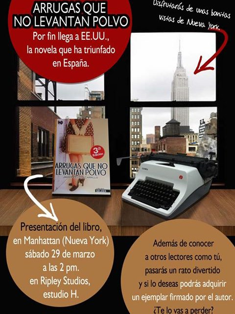 """Ciudad de Córdoba y Nueva York presentan el libro """"Arrugas que no levantan polvo"""""""
