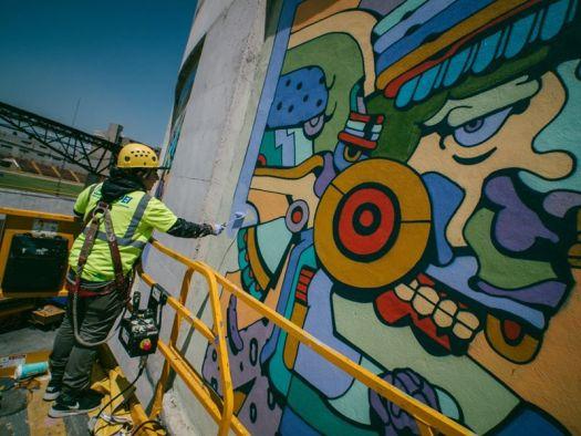 Arte Mural Translate