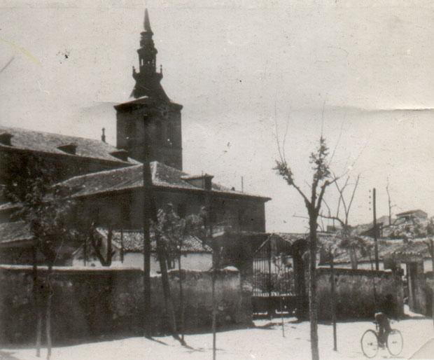 Casa del juez Francisco Fernández Bernal en la calle Arboleda. FOTO: Del archivo de Manuel Fernández