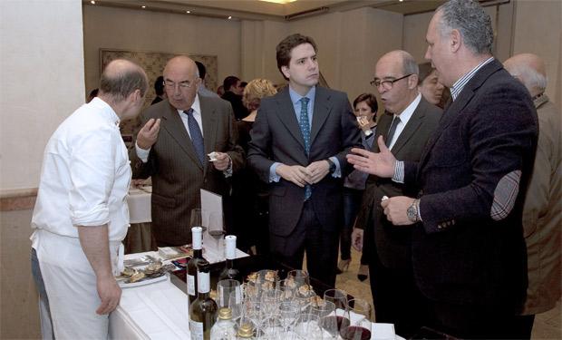 Borja Sarasola, ha asistido a la presentación de la XIII Edición del Concurso Internacional de Vinos Bacchus