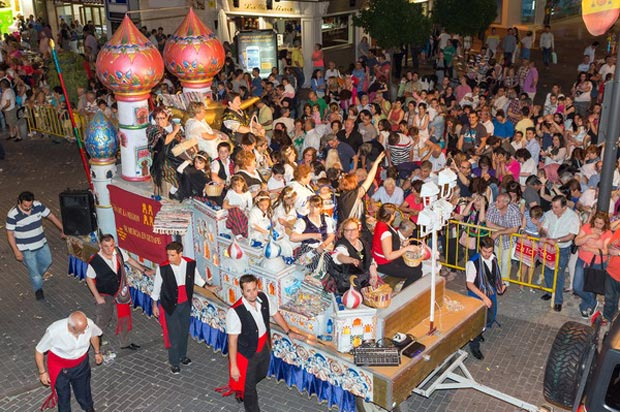 Desfile de carrozas del año 2014