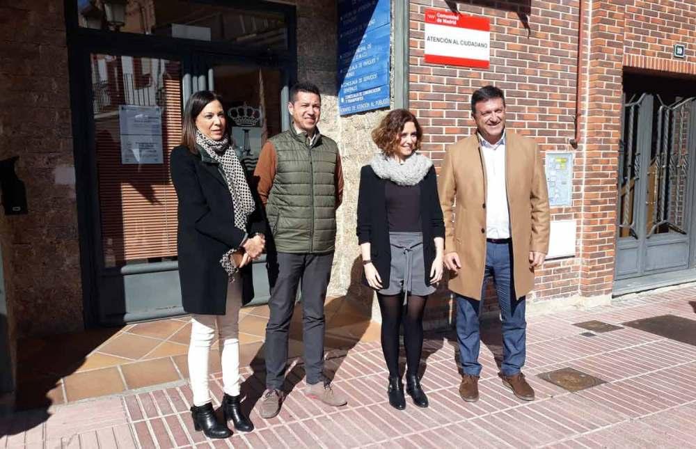 La comunidad de madrid incorpora a humanes a su red de for Oficinas de registro de la comunidad de madrid