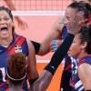 """Con su victoria """"Las Reinas del Caribe"""" recuperan su puesto seis en el ranking mundial voleibol"""