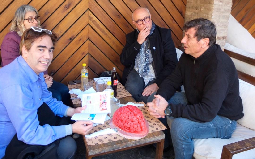 Degustación en la Inauguración del ITC Rosario