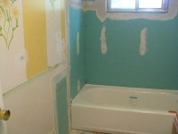 drywall bathroom
