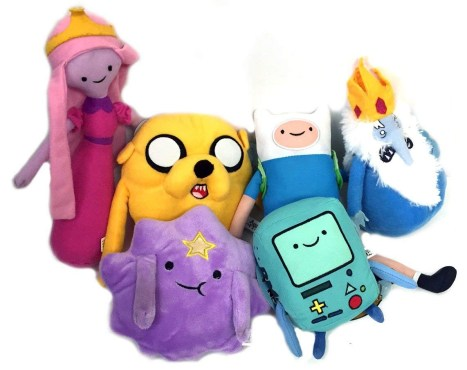 Adventure Time Set of 6 Plush Toys