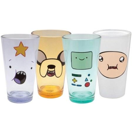 Adventure Time Glass Set