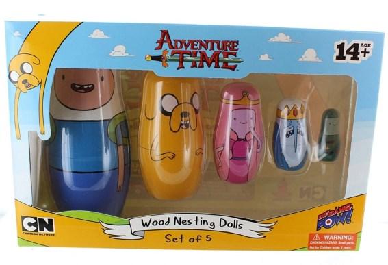 Adventure Time Nesting Dolls