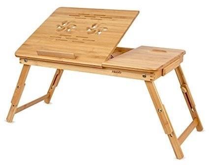 bamboo laptop desk