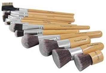 bamboo makeup brush set