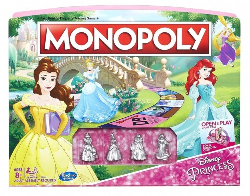 Disney Princess Monopoly