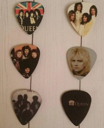 Queen Guitar Pick Magnets