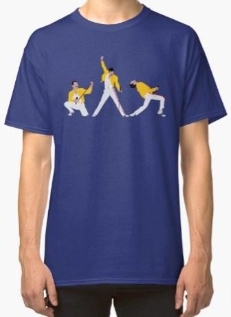 Freddie Mercury iconic poses shirt