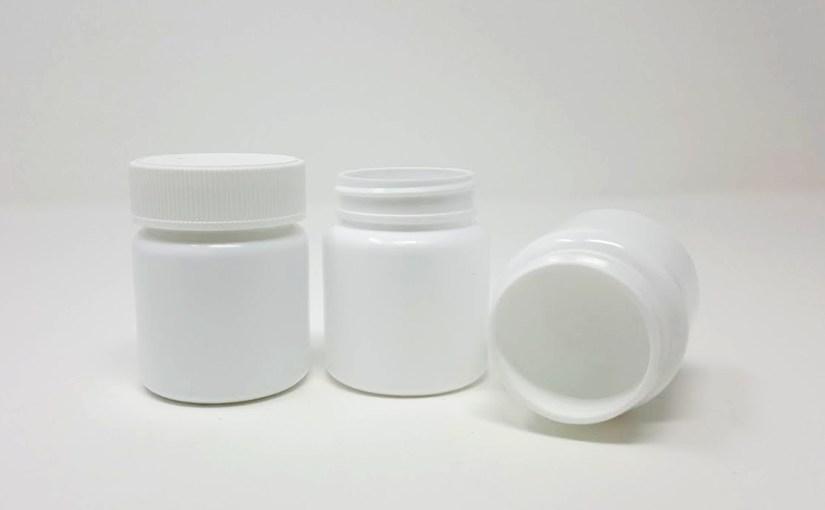 65cc White HDPE Round 45-400